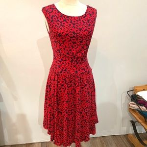 Moulinett soeurs floral design dress
